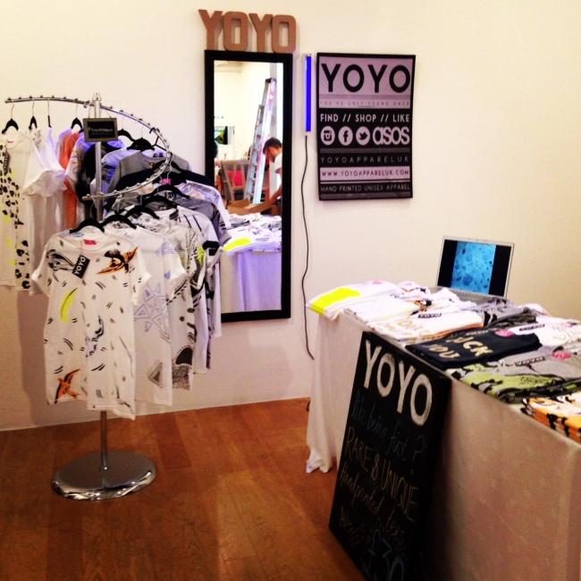 YOYO Pop-up shop